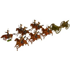 """Royal Horse Artillery"", Britains Ltd. 13-Piece Set #39"