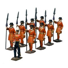 Britains Ltd. Toy Soldier Set: Yeomen of the Guard (Beefeaters)