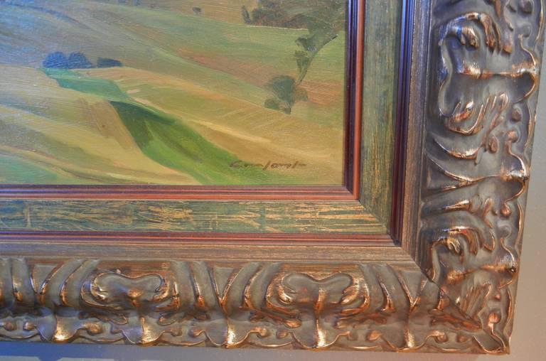 Gesso Charles Fraser Comfort, OC, RCA, Oil on Panel,