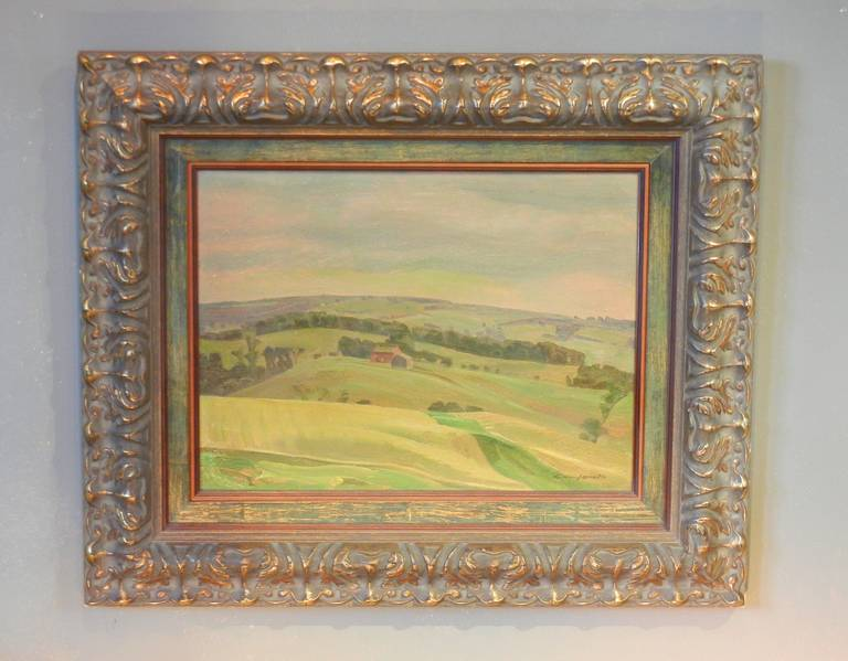 Charles Fraser Comfort, OC, RCA, Oil on Panel,