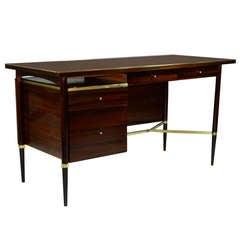 Paul McCobb Mahogany Desk, Connoisseur Collection