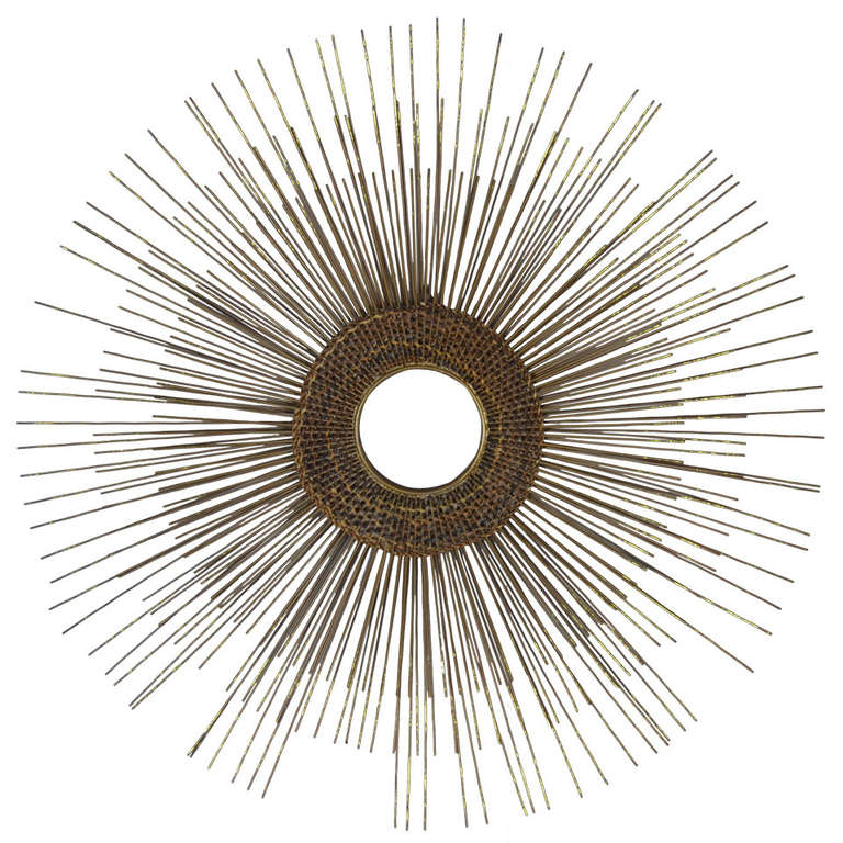 Woven Sunburst Wall Sculpture 1