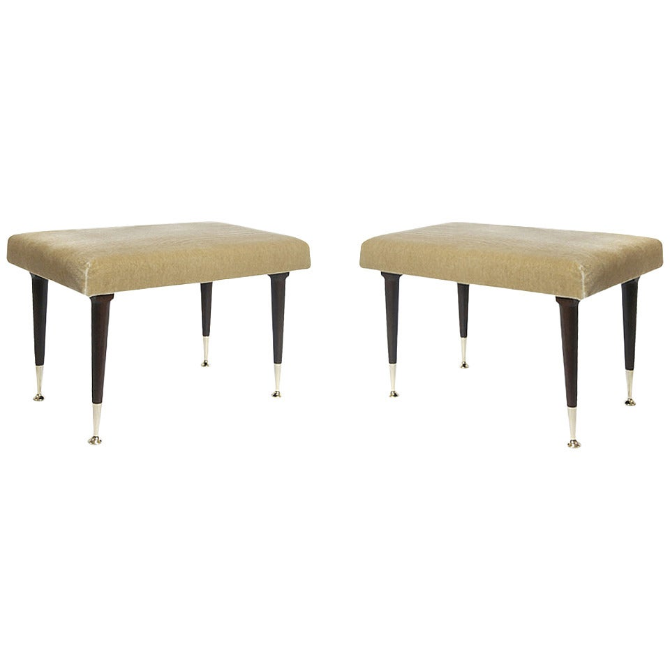 Modernist Stools by Edmond J. Spence 1