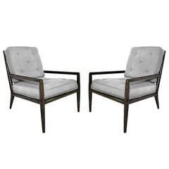 Pair of T. H. Robsjohn-Gibbings for Widdicomb Lounge Chairs