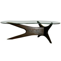Adrian Pearsall Asymmetrical Coffee / Cocktail Table
