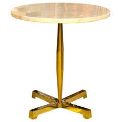 Calcutta Marble Top Occasional Table