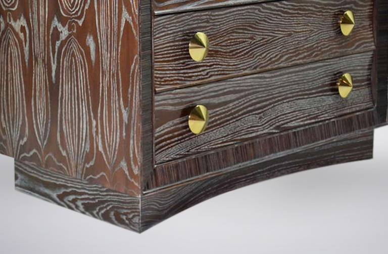 Cerused Gentleman's Chest by Paul Frankl for Brown Saltman 8