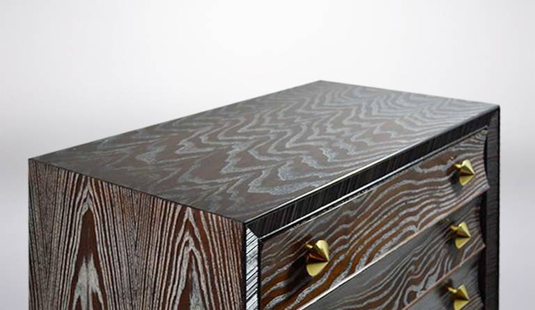 Cerused Gentleman's Chest by Paul Frankl for Brown Saltman 9