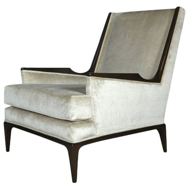 John Stuart High Back Lounge Chair At 1stdibs