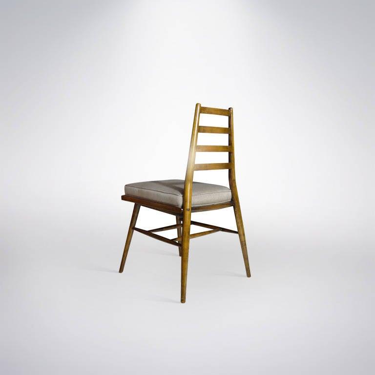 Mid-Century Modern Architectural Desk Chair by Paul McCobb