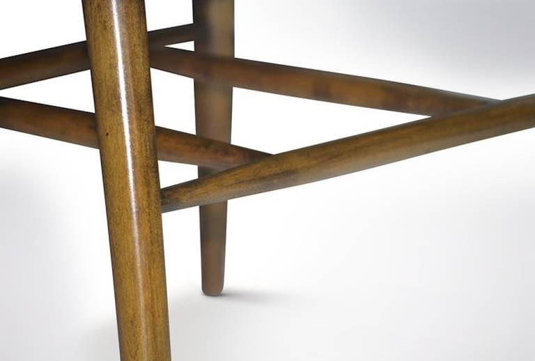 Wood Architectural Desk Chair by Paul McCobb