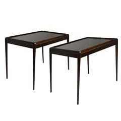 Pair of End Tables by T.H. Robsjohn-Gibbings for Widdicomb