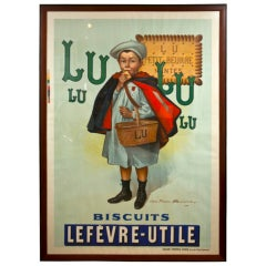 Antique French Biscuit Poster