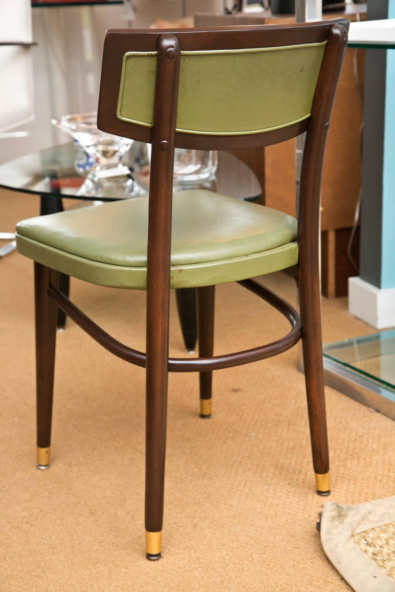 Mid Century Thonet Dining Side Chairs Set Of 4 For Sale At