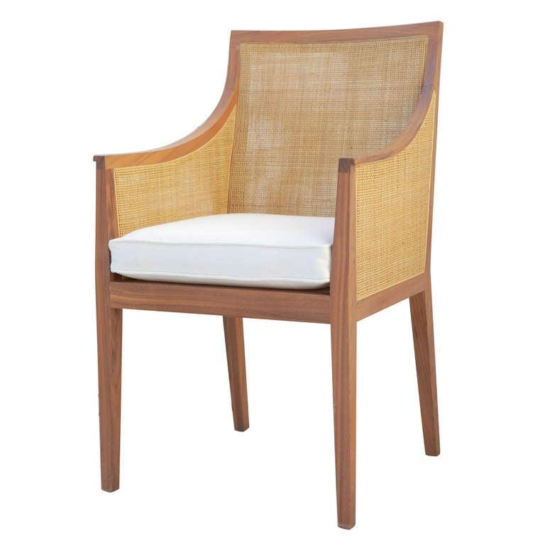 Vintage Flexform Cane Chair 1