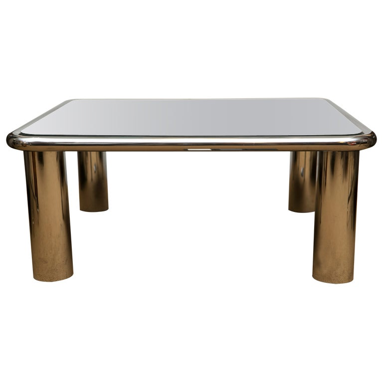 Image Result For Mirrored Square Coffee Table