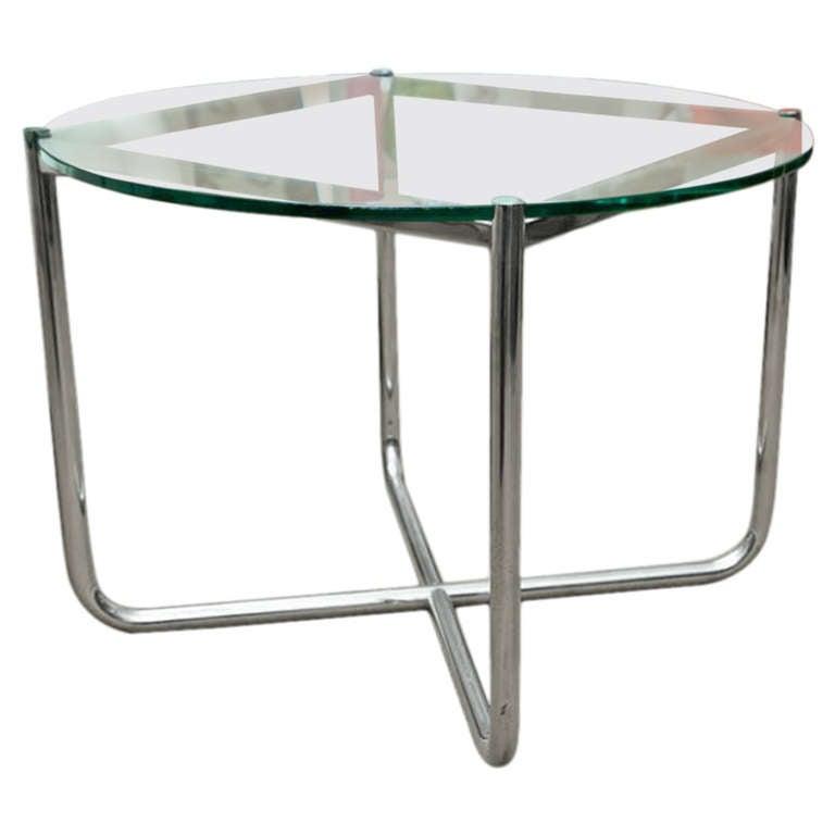 vintage mies van der rohe table at 1stdibs. Black Bedroom Furniture Sets. Home Design Ideas