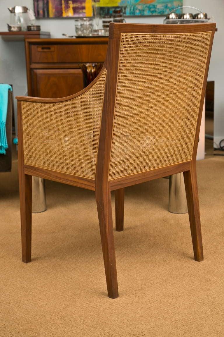 Vintage Flexform Cane Chair 5
