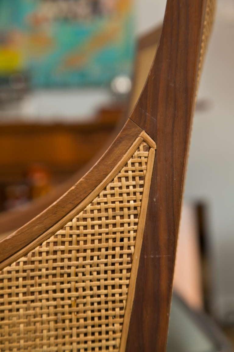 Vintage Flexform Cane Chair 10