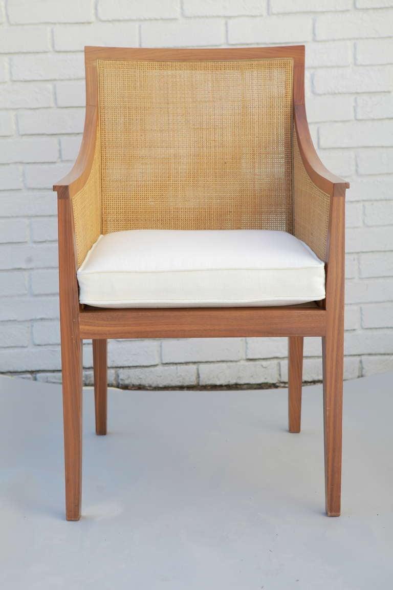 Vintage Flexform Cane Chair 4