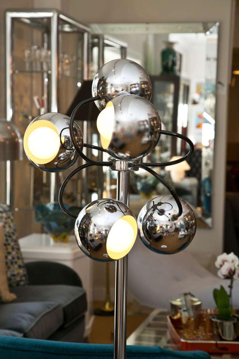 1960 S Multi Globe Floor Lamp At 1stdibs