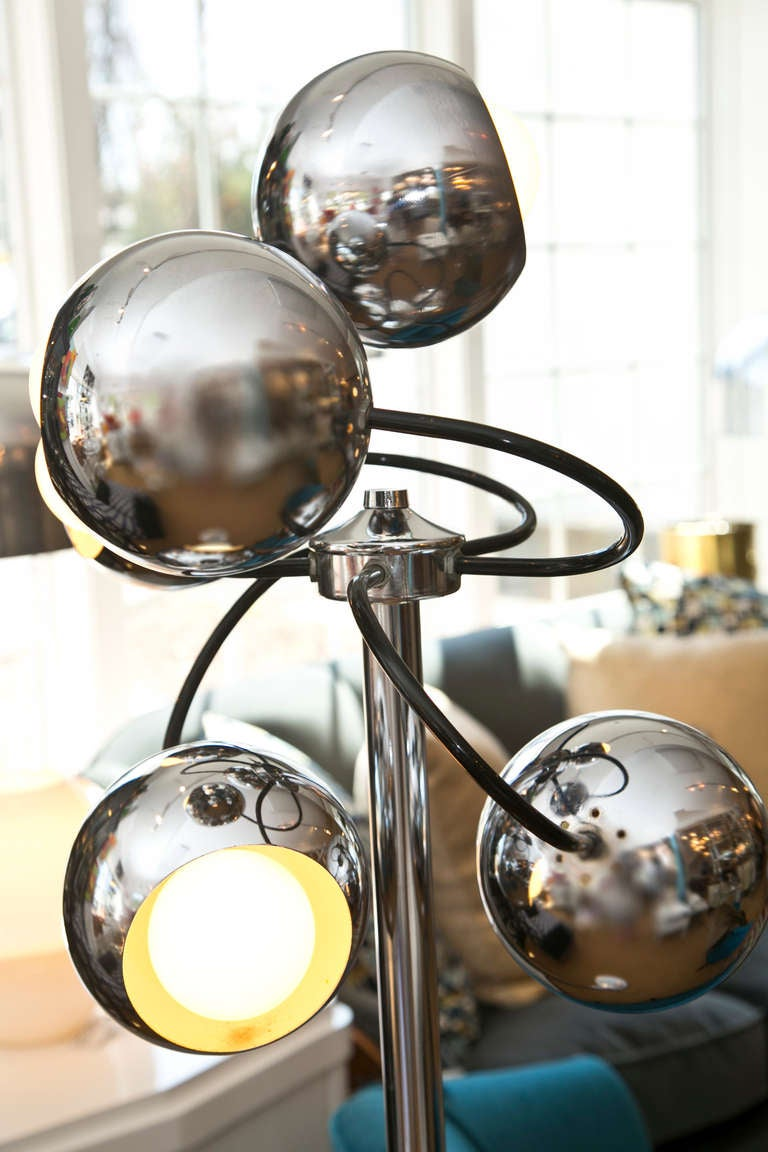 1960 S Multi Globe Floor Lamp At 1stdibs