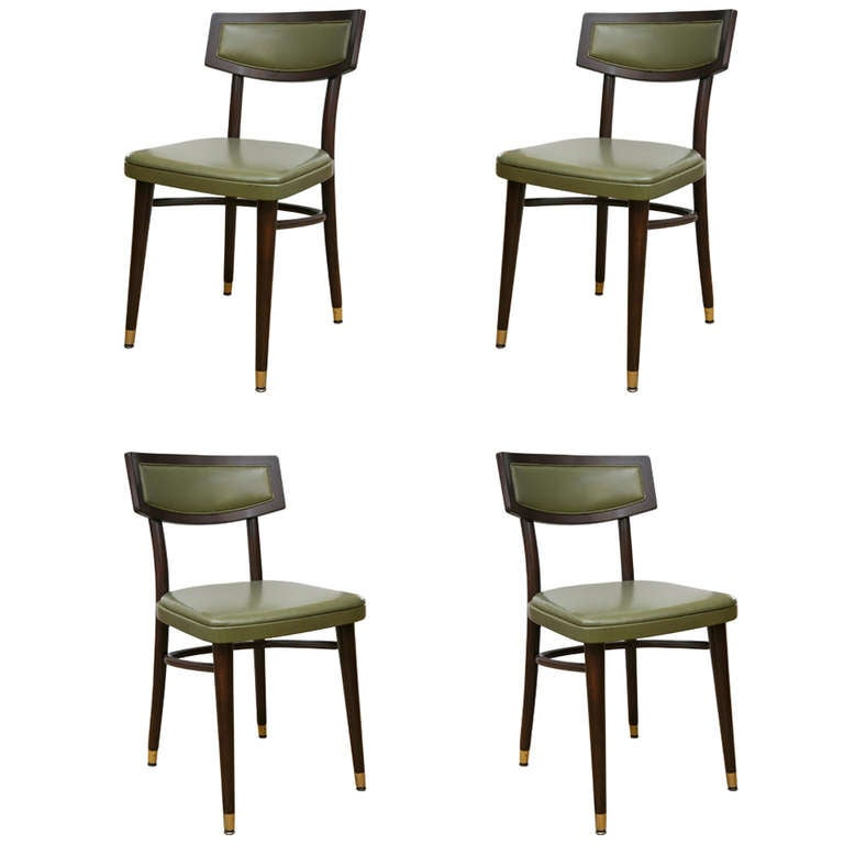 Mid-Century Thonet Dining/Side Chairs Set of 4