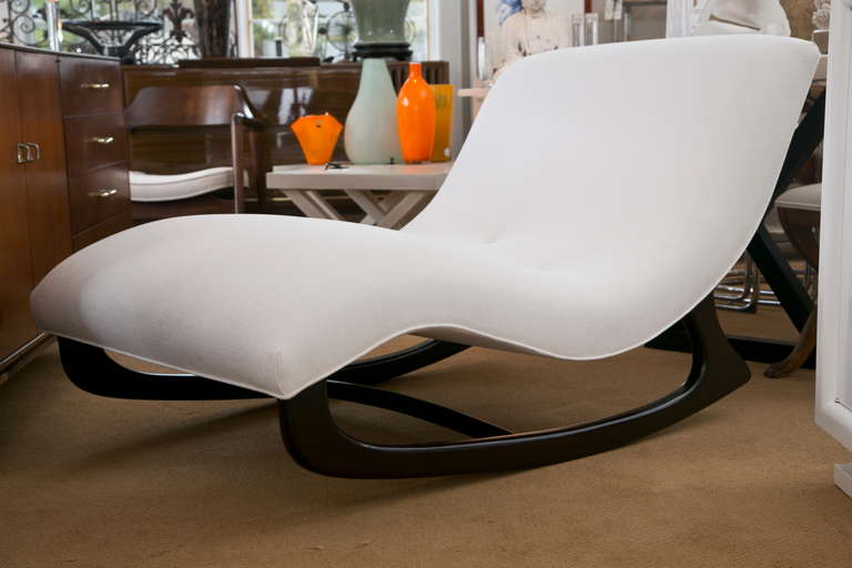 Mid-Century Adrian Pearsall Rocking Chaise 2 : adrian pearsall rocking chaise - Sectionals, Sofas & Couches