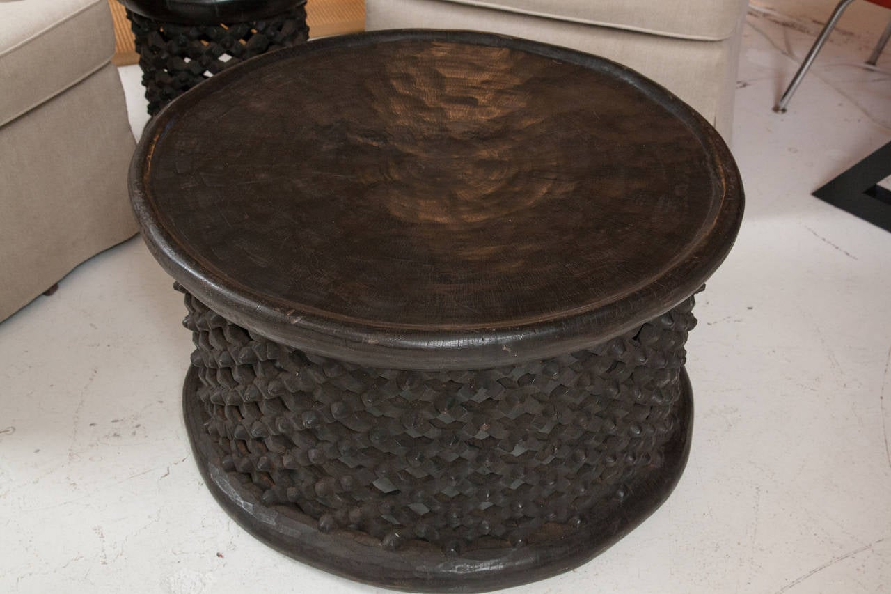 West African Cameroon Drum Table 2