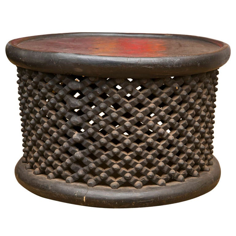 Tree Trunk Coffee Table South Africa: Cameroon Drum Cocktail Table At 1stdibs