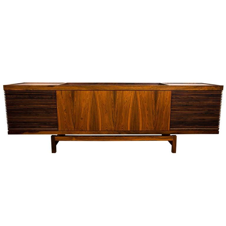 Superb Vintage 1960u0027s Stereo Cabinet 1