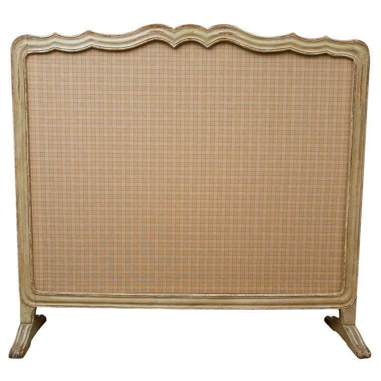 antique french fire screen at 1stdibs. Black Bedroom Furniture Sets. Home Design Ideas