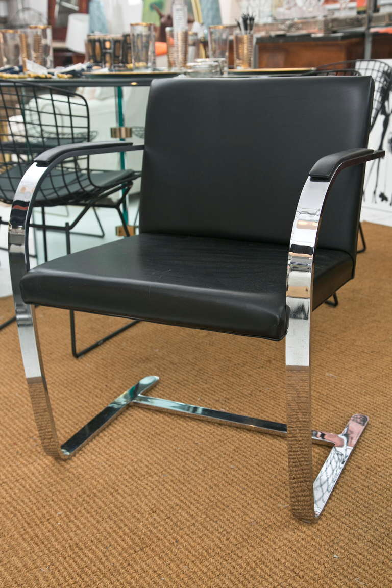 Brno Chair by Ludwig Mies van der Rohe for Knoll 2