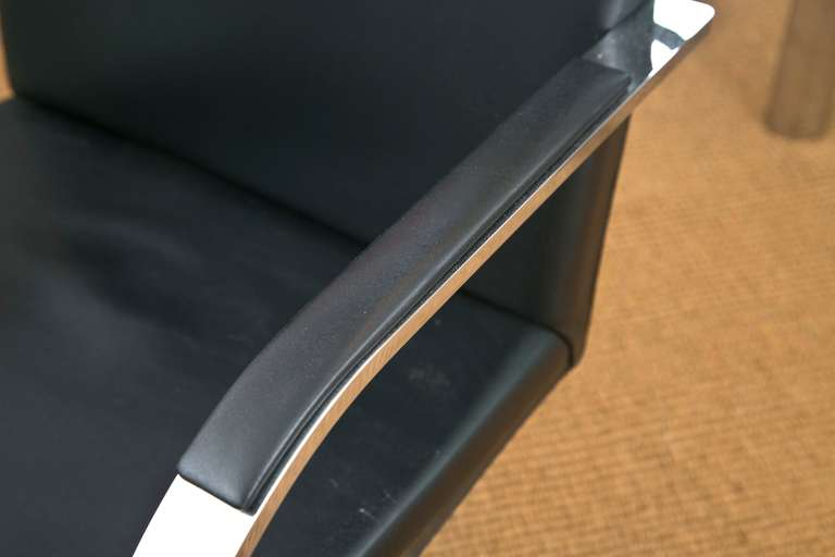 American Brno Chair by Ludwig Mies van der Rohe for Knoll For Sale