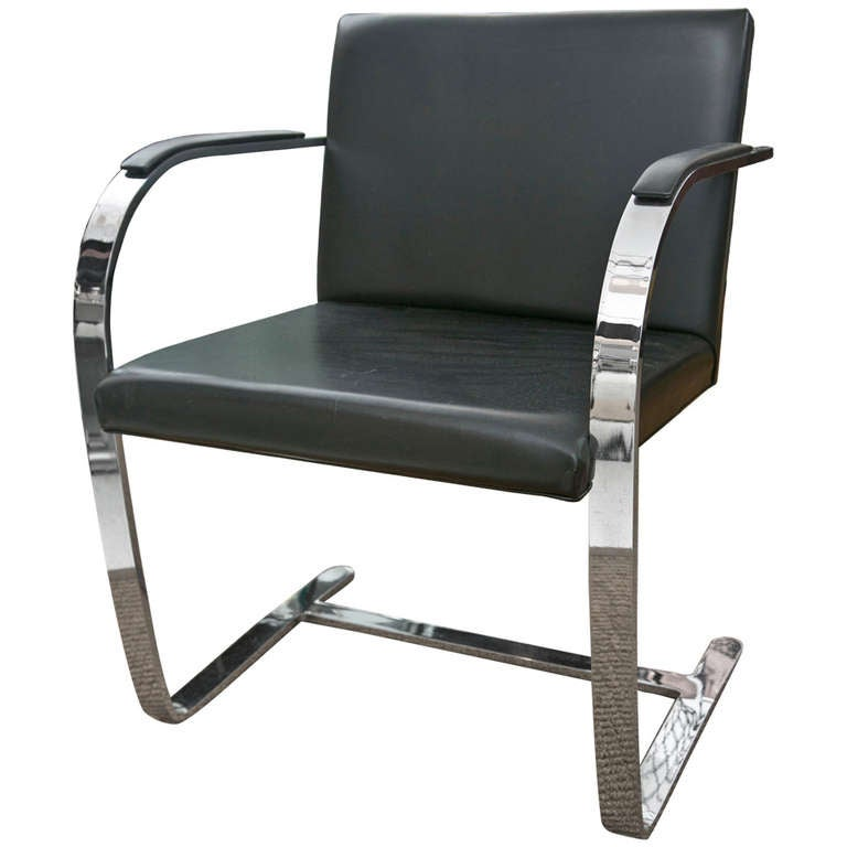 Brno Chair By Ludwig Mies Van Der Rohe For Knoll For Sale At 1stdibs