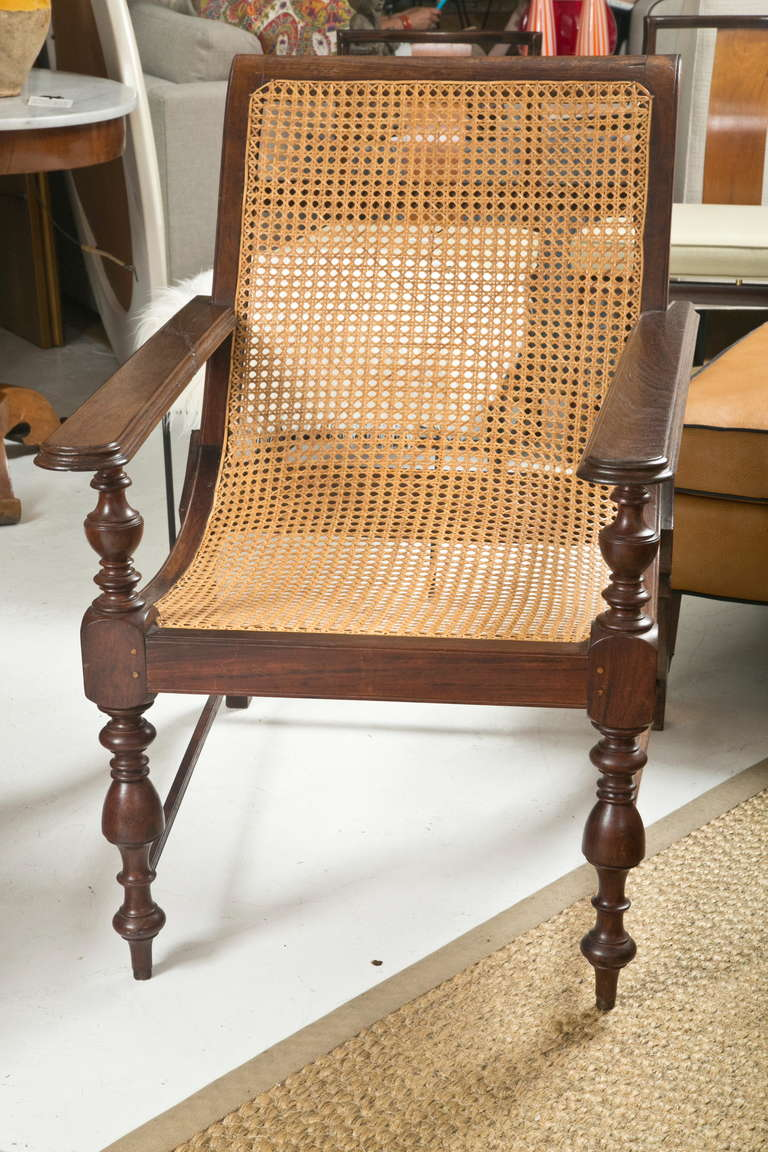 1960 S British Colonial Plantation Chair At 1stdibs