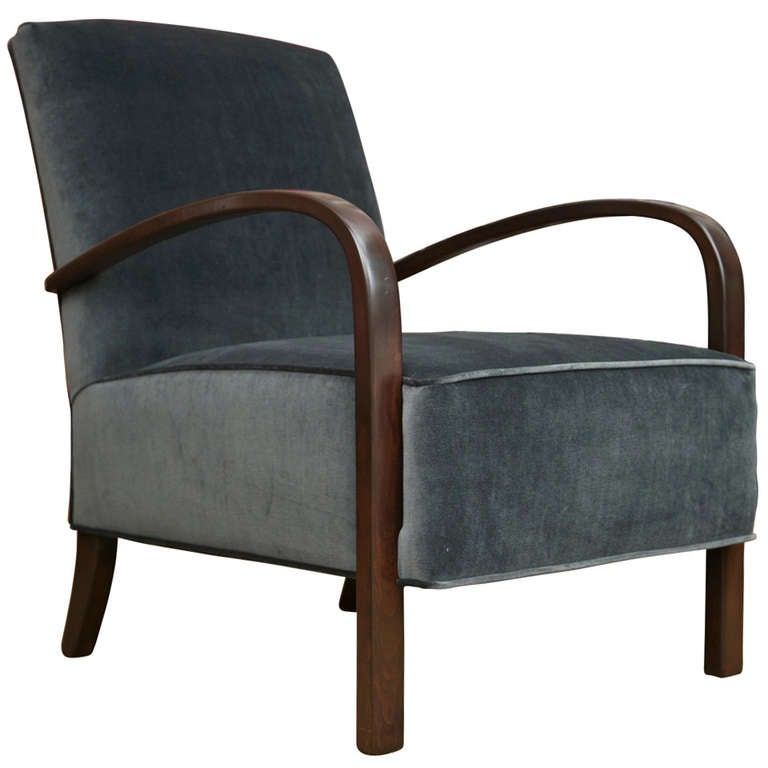 Vintage art deco style chair at 1stdibs - Style vintage deco ...