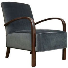 Vintage Art Deco Style Chair