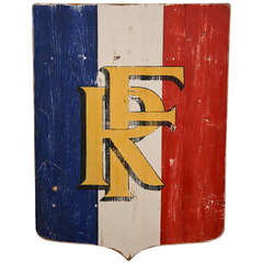 Antique Sign - Republic of France