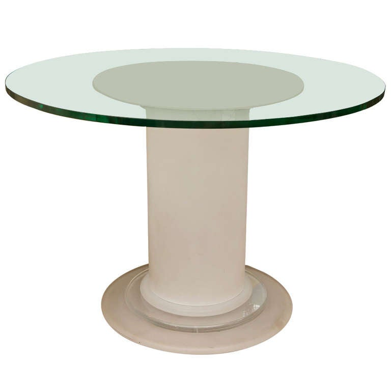 Mid Century Frosted Lucite Table at 1stdibs : 858543l from www.1stdibs.com size 768 x 768 jpeg 17kB