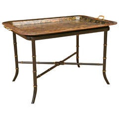Antique British Regency Style Tray Table