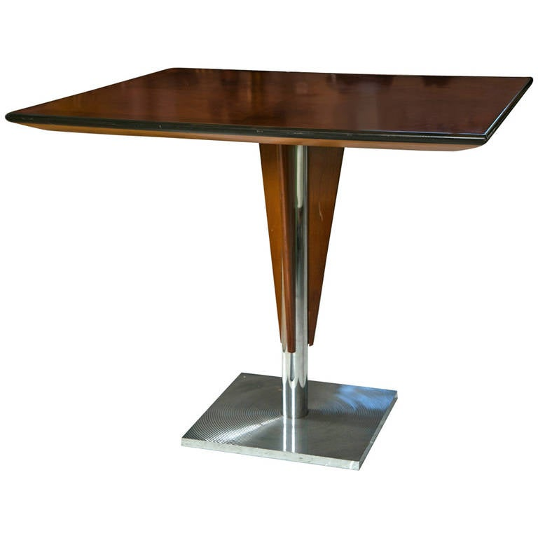 Mid century bistro or yacht table at 1stdibs for Mid century bistro table