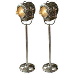 Pair of Mid-1940s, Mole-Richardson Motion Picture Lamps