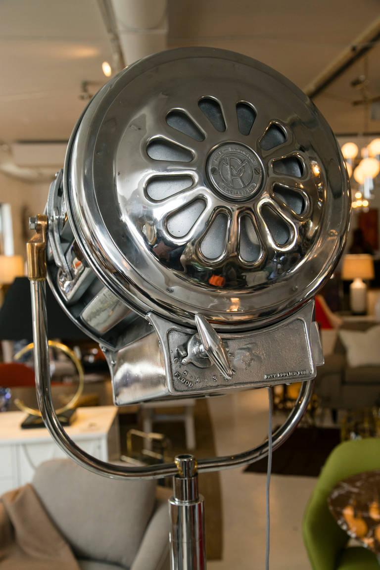 Pair Of Mid 1940s Mole Richardson Motion Picture Lamps