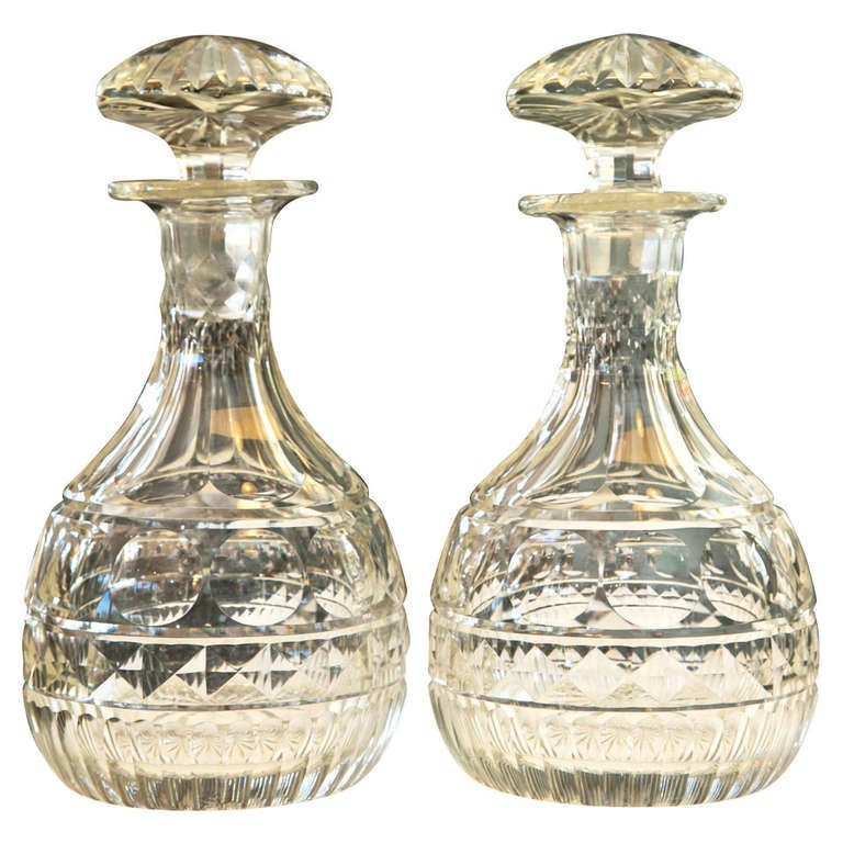 Dating cut glass decanters