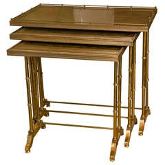 Set of Maison Bagues Style Nesting Tables