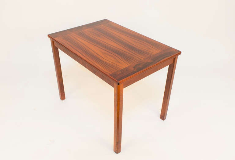 Swedish Scandinavian Modern Side Table For Sale