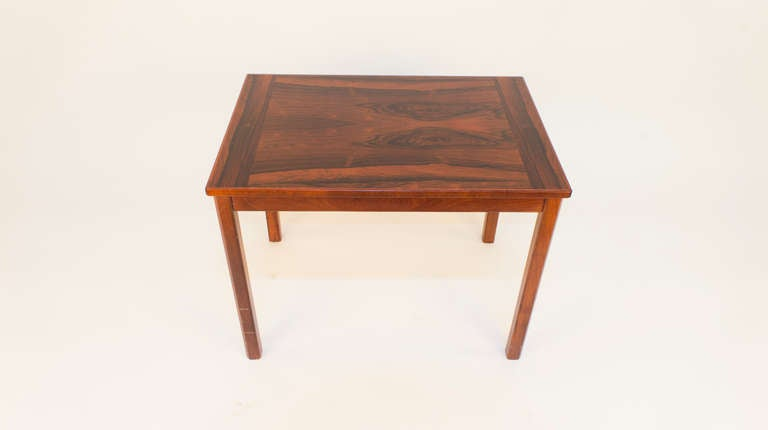 An occasional table, designed for the elegant living room of the