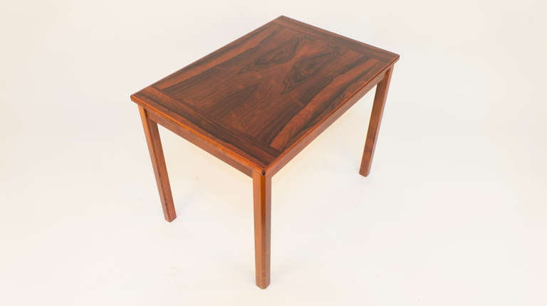 Swedish Scandinavian Modern Side Table For Sale