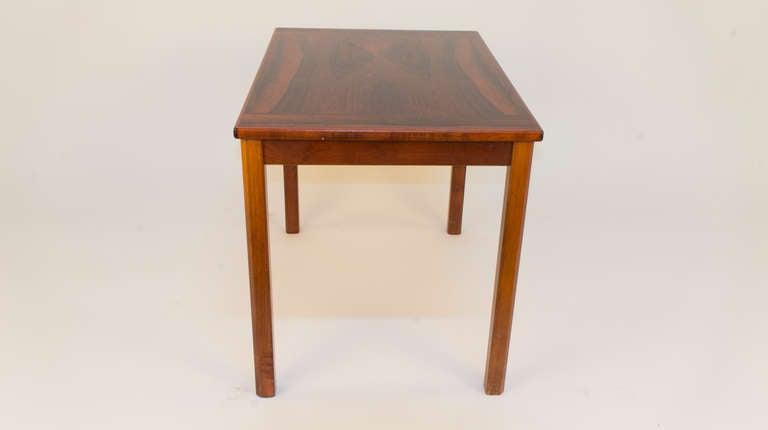 Jacaranda Scandinavian Modern Side Table For Sale